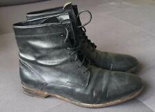 ZEHA Berlin Herren Boots Stiefel Antik Schwarz 41/42 Top NP240€