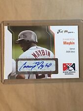 2006 Just Minor's ROOKIE Autograph Cameron Maybin (only 50 issued) quantity