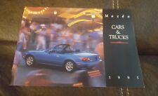 1995 Mazda Cars and Trucks Sales Brochure