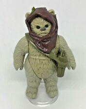 Vintage Star Wars Warok Ewok Last 17 Figure Original Hood & Quiver Near Mint
