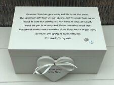 Personalised LARGE Memory Box ~ NANA GRAN ~ Any Name ~ Bereavement In Memory Of