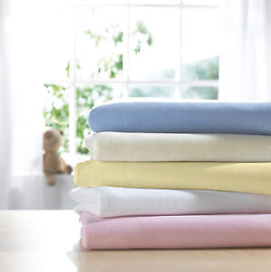 100% Cotton Jersey Fitted Sheet Single Small Double Super King Bunk Cot Crib