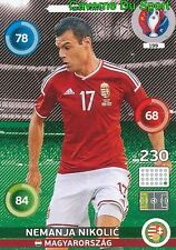 199 NEMANJA NIKOLIC MAGYARORSZAG HUNGARY CARD ADRENALYN EURO 2016 PANINI