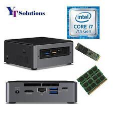 Intel NUC7i7BNH Core i7-7567U NUC Mini PC w/ 32GB RAM 1TB SSD Pre-Assembled