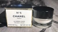 Chanel Paris Rare Gift Miniature Perfume N 5 La Creme Body Cream Box Collectible