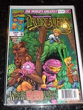 DAYDREAMERS Comic - Vol 1 - No 2 - Date 09/1997 - Marvel Comic