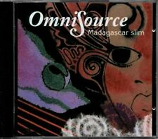 Madagascar Slim - OmniSource  RARE OOP Original Canadian Folk Blues CD (New!)