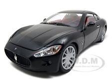MASERATI GT GRAN TURISMO BLACK 1/18 DIECAST CAR MODEL BY MOTORMAX 79151