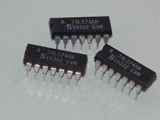 3pk - 74LS74N Dip Pkg ICs - Dual D Flip Flop