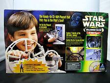 NIB 1998 Hasbro Interactive Star Wars POTF Millennium Falcon CD-ROM Playset Game
