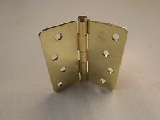 "Penrod Door Hinges, 4"", Brass, Each."