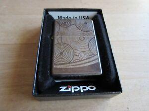 Original Zippo Spirals And Waves