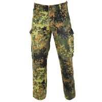 Genuine German army issue flecktarn pants field combat camo trousers