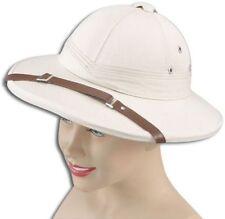SAFARI HELMET BEIGE (HARD) (CULTURES FANCY DRESS HATS)