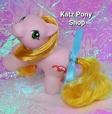 HQG1C Custom G1 MLP Style Playful Baby Pony 💜 ZIPPER 💜 w Accessories! PINK
