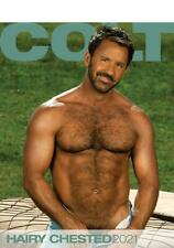 Colt Studio HAIRY CHESTED  MEN  2021 Calendar NEW