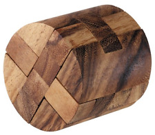 The Round Diamond Puzzle, Wood, Brain Teaser, Challenge, Game