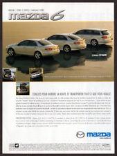 2004 MAZDA 6 Original Print AD - Sedan GS-14 Hatchback GT-V6 Wagon Sport GT-V6