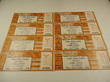 8 Lionel Richie Ticket Stubs 1986 Unused can be repurposed for private event