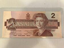 10-1986 $2 Dollar Bills