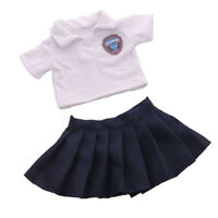 18inch Girl Doll Clothes Suit, American Doll Cute School Uniform Outfits