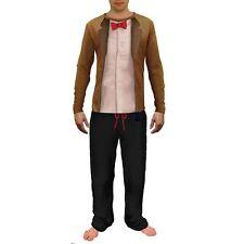 BBC Mens Doctor Who Pajamas - 11th Doctor Pajamas - DOCTOR WHO COSTUME PAJAMAS