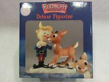 "ENESCO Vintage 2000 NEW Rudolph Figurine ""Hermey & Rudolph"" #872210 MIB NEW"