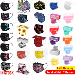 Costume Unisex Face Breathable Mask Protective Covering lot of Colors Halloween