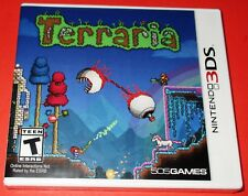 Terraria Nintendo 3DS *New! *Factory Sealed! *Free Shipping!