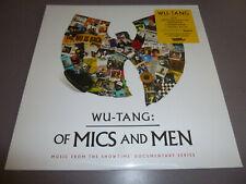 WU-TANG CLAN - Of Mics And Men - LP yellow Vinyl /// Neu & OVP