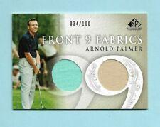 2004 Arnold Palmer SP Signature Golf Front 9 DUAL SHIRT Card! Jersey! SP# 34/100
