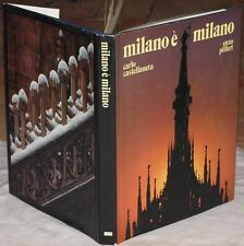 CARLO CASTELLANETA ENZO PIFFERI MILANO E MILANO MILAN FOTOGRAFIE 1983