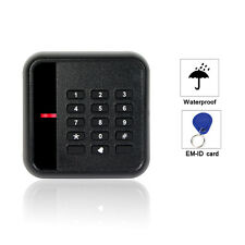 EM-ID 125kHz Keypad Door Access Control Card Reader Waterproof WG26/34+track co