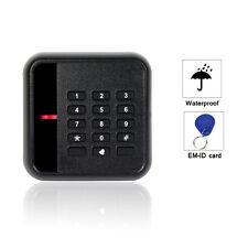 Waterproof EM-ID Card 125kHz Keypad Door Access Control Reader for Entry System