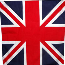 UK Flag Bandana United Kingdom British Union Jack Bandanna Hat Headband Hairband