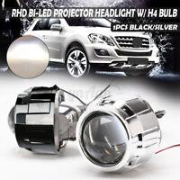 2.5'' Bi-LED Projector Lens Car Headlight Headlamp Retrofit H4 LED Hi/Low Bulb