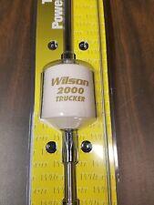 """Wilson Trucker T2000 White 10"""" shaft Mobile CB Radio Antenna w 49"""" Whip 305-497"""