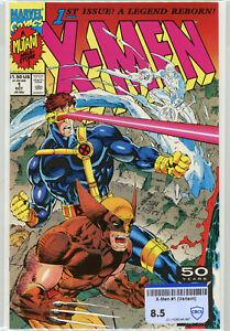 X-Men #1 (Marvel 1991) | RAW 8.5 VF+ | Jim Lee Art | Cover C Wolverine Cyclops