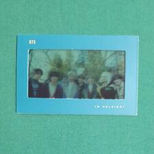 BTS Official Bookmark 2020 Winter Package in Helsinki Kpop Genuine