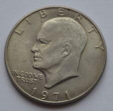 1971 USA American Eisenhower $1 One Dollar US Coin