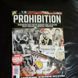 All About History Of Prohibition 2 ND Edition Brand New Magazine