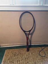 Pro kennex golden ace tennis racquet 4 3/4 inch cowhide grip