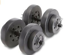 🔥NEWMarcy Vinyl 40 Pound Adjustable Dumbbell Set (FREE SHIPPING)🔥