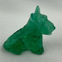 Boyd Art Glass Duke the Scottie Dog - Key Lime