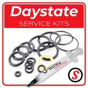 DAYSTATE *UPRATED* Air Rifle O-ring seal washer service kit + OPTIONAL GREASE