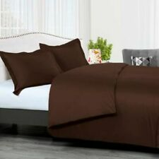 300 Tc Chocolate Sateen Solid 8 Pc Beds In A Bag