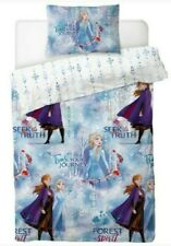 Official Disney Frozen 2 Single Duvet Set Reversible Bedding Set Elsa & Anna
