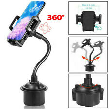 Universal Car Cup Mount Gooseneck Holder Cradle Adjustable for iPhone Cell Phone