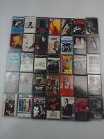 Pop Rock CASSETTE TAPES INXS Madonna Don Henley, U2, Bob Seger +more Lot of 35