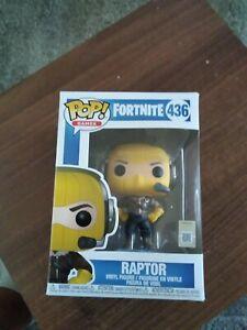 Funko Pop! Games Fortnite Series 1 Raptor Figurine #436 *new*